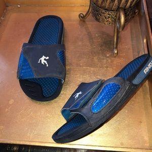 And 1 Boys size 3 / 4  sport slides sandals ⚽️